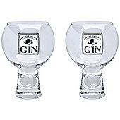 Durobor Alternato Short Stem Gentlemen's Gin Glass - 540ml - Pack of 2 Glasses