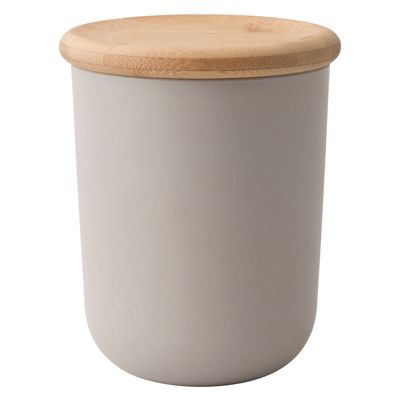Berghoff Grey Canister with Bamboo Lid