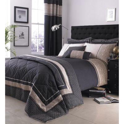 Catherine Lansfield Home Signature Luxury Geo Pillowsham Natural