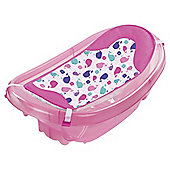 Summer Infant Sparkle and Splash Newborn to Toddler Baby Bath Tub, Pink