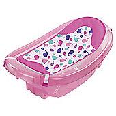 Summer Infant Sparkle and Splash Newborn to Toddler Baby Bath Tub, Pink