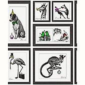 Mad Dogs Framed Animals Wallpaper - 97921
