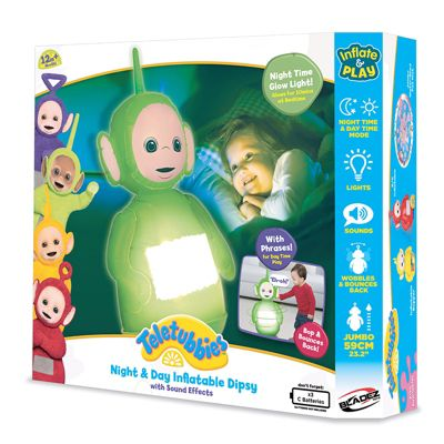 Bladez Teletubbies Inflatable Night & Day Bopper Dipsy