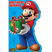 Super Mario Birthday Wishes Birthday Card