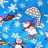 Winter Wonderland Toddler Hooded Onesie - Medium