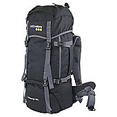 Yellowstone Edinburgh Rucksack, Black 55L
