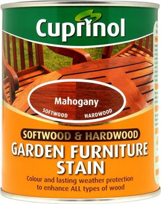 cuprinol garden furniture stain mahogany 750ml - Garden Furniture Stain