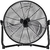 18 inch Black High Velocity Floor or Desk Fan
