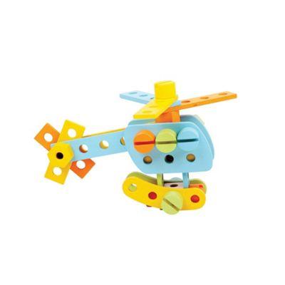 Bigjigs Toys Wooden Construction Set