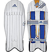 adidas CX11 Mens Cricket Wicket Keeper Pads Leg Guards - Mens