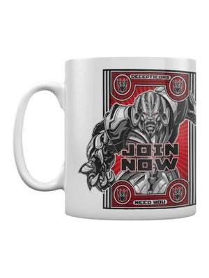 Transformers The Last Knight Join Now 10oz Ceramic Mug, White