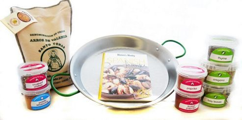 Spanish Paella Cooking Kit
