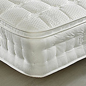 Happy Beds Anti Bed Bug 2000 Pocket Sprung Memory, Latex and Reflex Foam Pillow Top Mattress