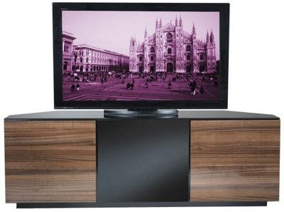 UK-CF Walnut Corner TV Stand for up to 60 inch