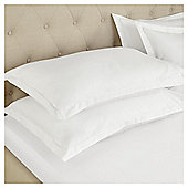 Fox & Ivy  200 Thread Count  Egyptian Cotton Flat Sheet - White