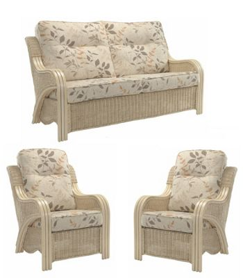 Desser Opera 3 Seater and 2 Seater Conservatory Sofa Set