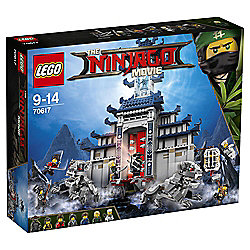 LEGO Ninjago Movie Temple of The Ultimate Ultimate Weapon 70617