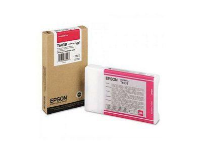 Epson T603B Magenta (220ml) Ink Cartridge for Stylus Pro 7800/9800 Printers