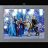 Disney Frozen - LED Photo of Olaf riding on Sven