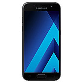 Tesco Mobile Samsung Galaxy A3 Black (2017)
