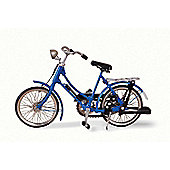 Blue Woman Bicycle
