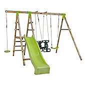 Plum Muriqui® Wooden Swing Set