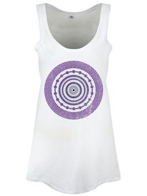 Amaranthine Spiral Women's Floaty Vest, White