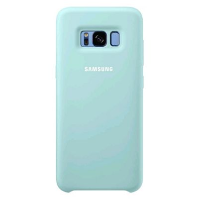 Samsung Galaxy S8 Silicone Cover Blue