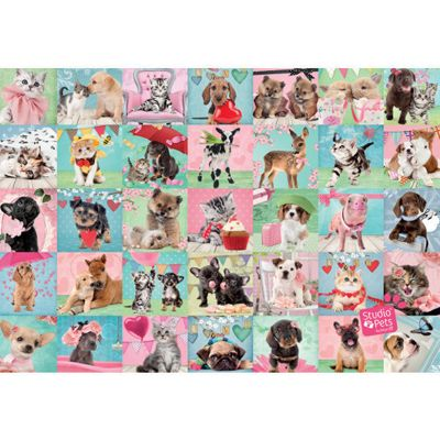 Studio Pets - Lovely Day - 1000pc Puzzle