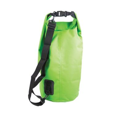 15 Litre PVC Waterproof Dry Bag Green