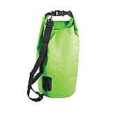 15 Litre PVC Waterproof Dry Bag Green