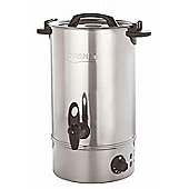 Burco Cygnet 20 Litre Manual Fill Electric Water Boiler - Stainless Steel