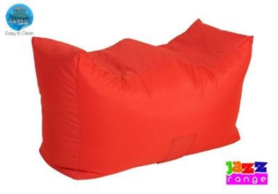 Happy Beds Bonkers Jazz Bean Bag Bench Red