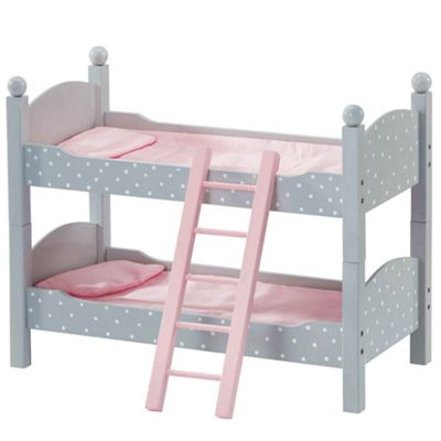 Olivia's Little World Polka Dots Double Bunk Bed