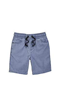 F&F Pull-On Drawstring Shorts - Blue