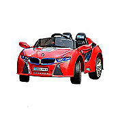 BMW Style Kids Ride On Car - I8 Sport 12V Electric Ride On Car with Parental