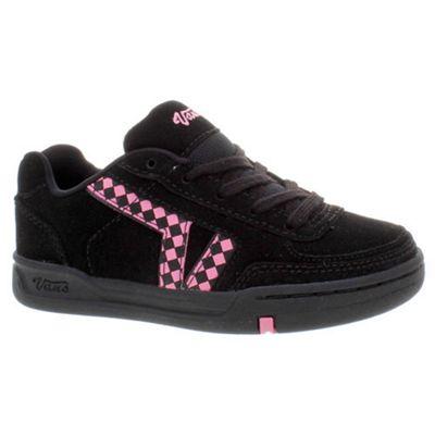 Vans Hallie Black/Aurora Pink Kids Shoe