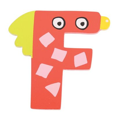 Tatiri Crazy Bird Letter F (Red)