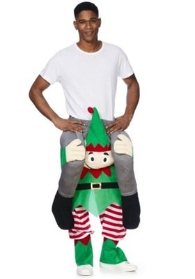 Fu0026F Ride On Elf Christmas Costume Catalogue Number 777-7565  sc 1 st  Tesco & Buy Fu0026F Ride On Elf Christmas Costume from our Nativity u0026 Christmas ...
