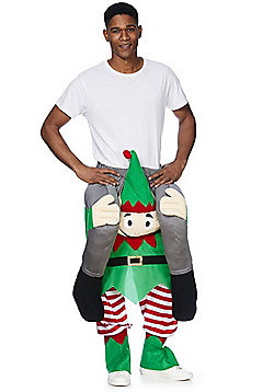 F&F Ride On Elf Christmas Costume - Green