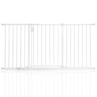 Safetots Extra Wide Hallway Gate White 140.4 - 146.4cm