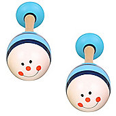 Bigjigs Toys Animal Maracas (One Pair - Beetle)