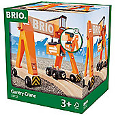 Brio 33732 Gantry Crane For Wooden Train Set