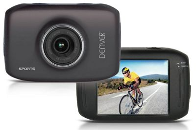 Denver ACT-1302T Sports Action Camera 720p, 5MP & touchscreen