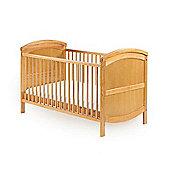 Baby Elegance Walt Cot Bed & Healthguard Mattress - Pine