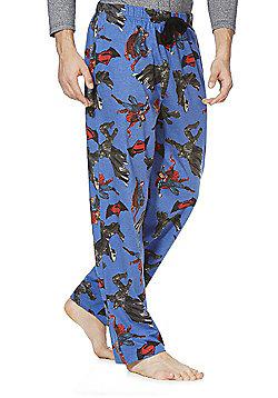 DC Comics Batman V Superman Lounge Pants - Blue