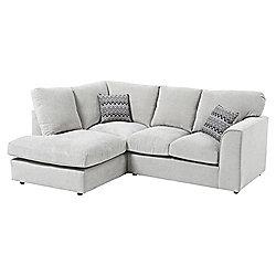 Hardy LH Corner Chaise, Grey