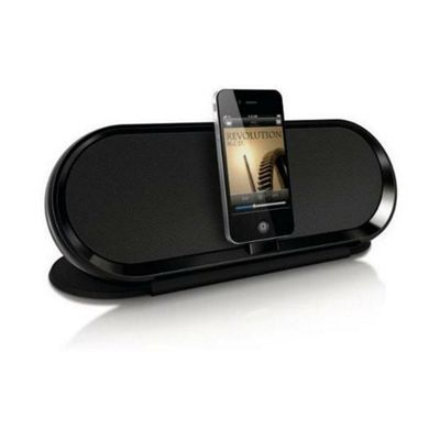 Philips DS7600/10 Fidelio Docking Speaker For iPod & iPhone - Black.
