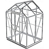 Simplicity Stafford 5x4 Greenhouse with Toughened Glass and Metal Base