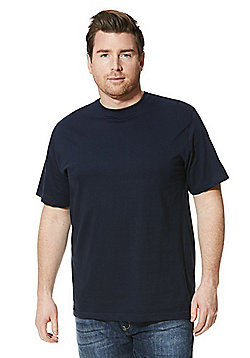Jacamo Crew Neck T-Shirt - Navy